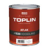 TOPLIN #1530 AFLAK HOOGGLANS standverf op lijnoliebasis (voorheen Aquamarijn Toplin Aflak glans) + GRATIS MOTAS.NL katoenen tas (zolang de voorraad strekt)