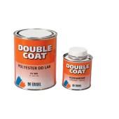 De IJssel DD Double Coat polyester DD lak DC 008 blank ZIJDEGLANS SILKGLOSS voor op kunststoffen zoals polyester 1000 gram set