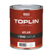 TOPLIN #1540 AFLAK SATIJN standverf op lijnolie basis  (voorheen Aquamarijn Toplin Aflak Zijde) + GRATIS MOTAS.NL katoenen tas (zolang de voorraad strekt)