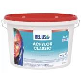 RELIUS Acrylor Classic zeer goed dekkende matte weerbestendige muurverf voor buiten per 12,5 liter wit of op kleur