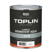 TOPLIN #2010 AQUA GRONDVERF (voorheen Aquamarijn LINOLUX GROND of Aqualin) watergedragen grondverf op basis van natuurlijke emulsies + GRATIS MOTAS.NL katoenen tas (zolang de voorraad strekt)