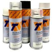 Spuitbus bumperspray zwart 400 ml