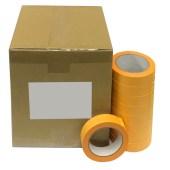 Yellow Gold Masking paperrice Washi-tape of Light Yellow FL per doos