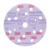 3M 51154 260L+ HOOKIT P1500 150mm LD861A per 50 schijven