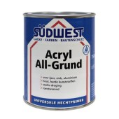 Sudwest ACRYL watergedragen Allgrund U51 grondverf voor hout en hechtlaag voor ijzer, zink, kunststof en aluminium per 750ml