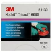 3M 51130 Trizact schuurmateriaal 150mm P6000 per 15 schijven
