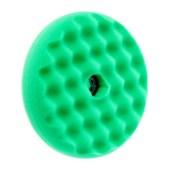 3M 50962 Quick Connect dubbelzijdige Poets Wafelpad - Groen 150 mm - OP=OP de laatste losse per pad NOG 7