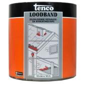 Touwen Tenco Dakfix Loodband SBS zelfklevende polyethyleen tape voor het waterdicht afwerken en afdichten van scheuren en naden op dakbedekking, metaal, beton, PVC en zink