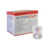 Supercup bedrukte mengbekers 1300 ml per 200 stuks