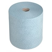 Schoonmaakdoek proptex voor synthetische vloeistoffen 32cm breed rol doek papier a 500 vel