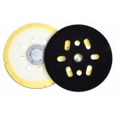 Hamach Schuurpad 150 mm zacht 6 + 1 gaten voor schuurmachine met 5/16 as aansluiting voor o.a. EH55