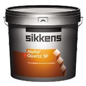 Sikkens Alpha Quartz SF kwartshoudende muurverf lichte kleur uit wit 10 liter