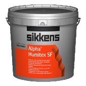 Sikkens Alpha Humitex SF matte binnenmuurverf voor vochtige ruimten in voedingsmiddelen- en zuivelindustrie per 5 liter lichte kleur uit wit