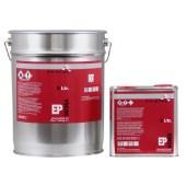 KRISTAL 2K EP epoxy vloercoating grijs voor o.a. garage, beton, 2-componenten betonverf vloerlak per 10 liter set inclusief verharder - aantrekkelijk staffelprijzen - EXTRA LAGE PRIJS REEDS VANAF 2 SETS