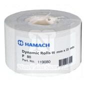 Hamach Dynamic of Indasa PLUS LINE schuurpapier rollen 95 mm x 23/25 mtr