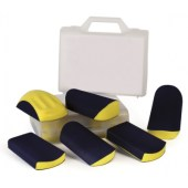Schuurblokken set in koffer