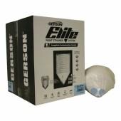 Gerson Elite verfzeefjes Aqua Clearcoat NYLON extra fijn 125 µ blauwe filtertip 1000 stuks