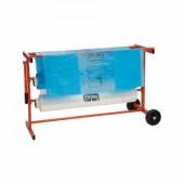 Colad Mobiele Plastic Foliedispenser II voor 2 rollen folie