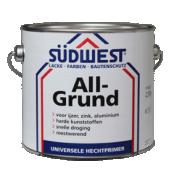Sudwest Allgrund grondverf voor hout en hechtlaag voor ijzer, zink, kunststof en aluminium per 2500ml