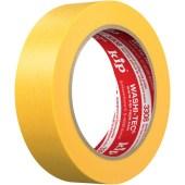 Kip 308 WASHI-TEC Premium Plus FineLine tape Washi temperatuurbestendig 120 graden geel yellow premium professioneel (indien uitverkocht ontvangt u de iets smallere opvolger Kip 3308)