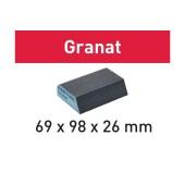 Festool Schuurblok Granat 69X98X26 P120 CO GR/6