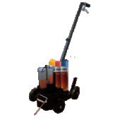 Vista Wegenverf-Spray Kar voor Vista 1K en 2K wegenverf spray