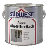 Sudwest Aqua ALU-EFFECT R01 Aqua voor hout, staal en wanden 750ml - per los blik te bestellen