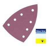 SIA Blue Line 1950 Siaspeed Delta schuurpapier Sheet met 7 gaten 50 stuks