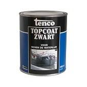 Touwen Tenco Topcoat Zwart