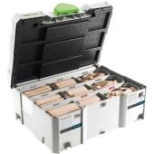 Festool Domino Xl Assortiment DS/XL D8/D10 306X BU
