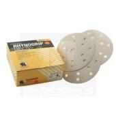 Indasa Rhynogrip PLUS Line klittenband discs schuurschijven 150mm met 8 + 6 + 1 per 50 schijven