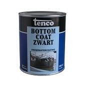 Touwen Tenco Bottomcoat Zwart voor bescherming van objecten onder water