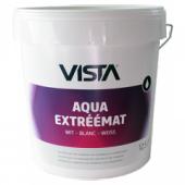 Vista Aqua Extreemat extreem diep (Edel) matte witte muurverf voor binnen per 12,5 liter - aantrekkelijke staffelprijzen