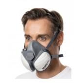 Moldex Disposable Compactmask 5120 professioneel masker stofklasse FFP2 R D met actieve koolstof tegen schadelijke damp en gas klasse A1