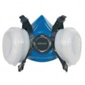 Gerson Disposable professioneel wegwerp FFP2 A2 R combi-masker stofmasker spuitmasker verfdampmasker 8211E2 - 8311E2 inclusief 2 onvervangbare dampfilters A2 en 2 vervangbare stoffilters FFP2