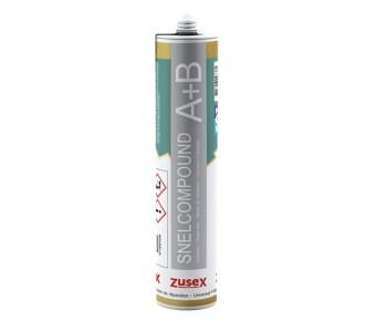 Zusex 2-componenten SNELCOMPOUND 2-in-1-koker voor kleine snelle houtreparaties van 250ml - NIEUWSTE VERPAKKING