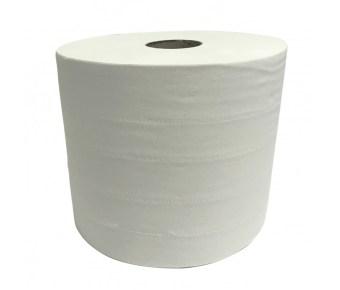 Poetspapier 2-laags 24-26.5cm breed 380 meter lengte per 2 rol verpakt in plastic pak - aantrekkelijke staffelprijzen