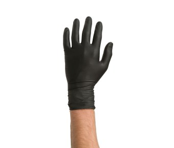Colad disposable nitrile handschoenen extra sterk (zwart) per 60 stuks - UIT VOORRAAD LEVERBAAR - aantrekkelijke staffelprijzen