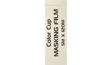 Holie Color Cup transparante maskeerfolie masking film 120m x 500 cm breed