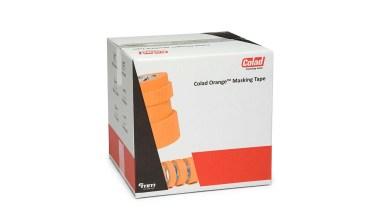 Colad Orange Masking tape 100°C crepe afplaktape UV-bestendig met hoge kleefkracht